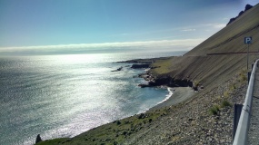 Drive along the Eastern Icelandic shore