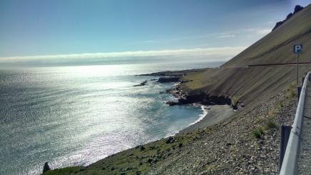 Drive along the Eastern Icelandic shore