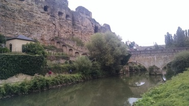 Inside the city walls