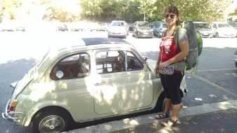 Teeny tiny cars all over Italy!
