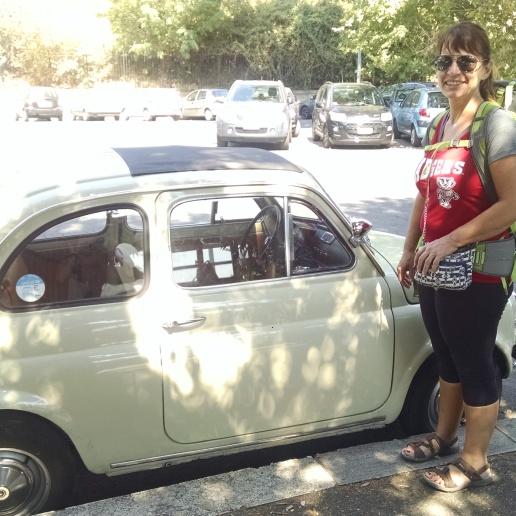 Teeny tiny cars all over Italy!