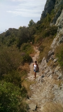 Hiking the Island of Capri, Italy.