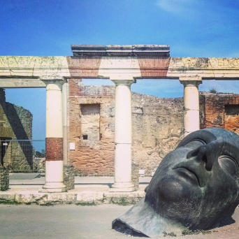 Volcano ruins of Pompeii, Italy.Volcano ruins of Pompeii, Italy.