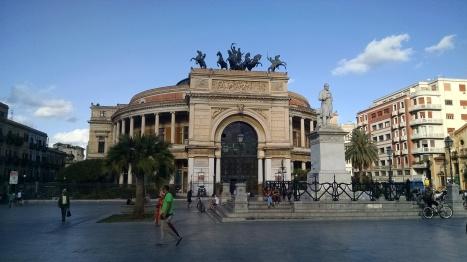 Theatre in Palermo, Sicily.
