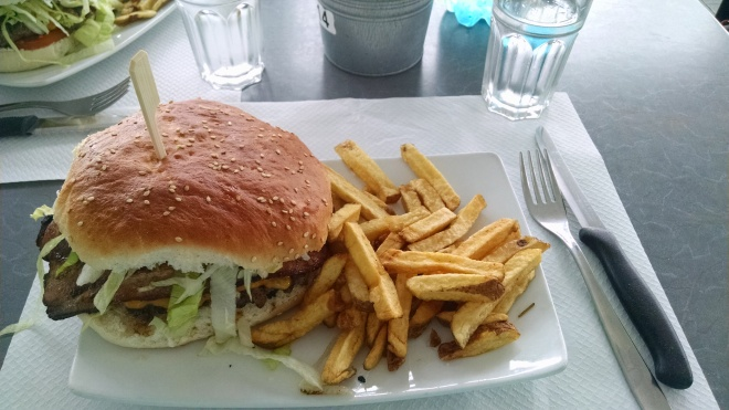 Craving protein - found an American restaurant in Mondello, Palermo, Sicilly.