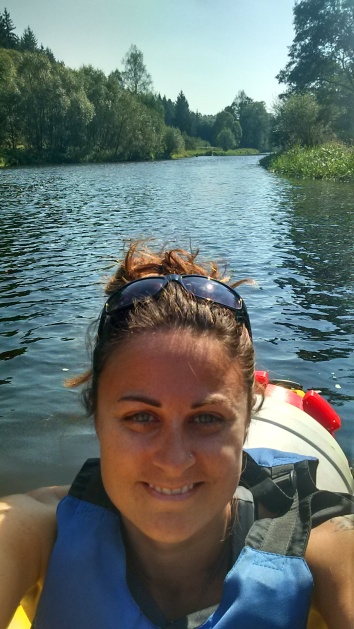Kayaking the Vltava River