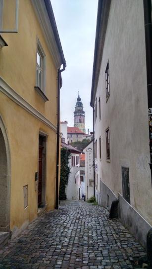 Streets of Cesky Krumlov