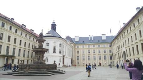 On Prague Castle Grounds