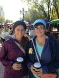 Shopping and coffee at Vernissage Market