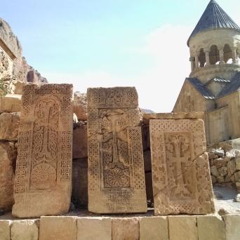 Khachkar headstones