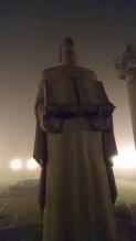 Statue in Goris city square