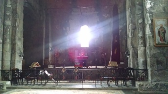 Inside Tatev Monastery