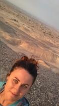 Sunrise in the Negev Desert.