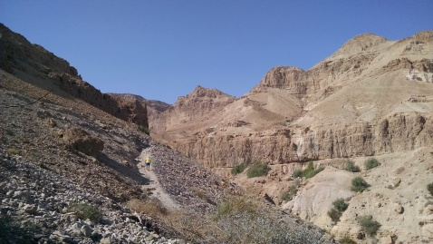 Hiking Engedi - known for King Saul and David's battles