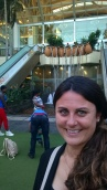 At the newer, modern Gateway Mall
