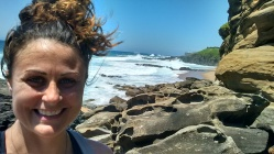 Ocean, hiking, climbing rocks - all things I love to do!