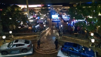 View of casino from above in Montecasino.
