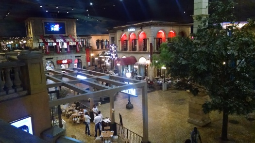 View from above in Montecasino