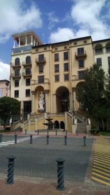 Pivot Hotel across the street from Montecasino