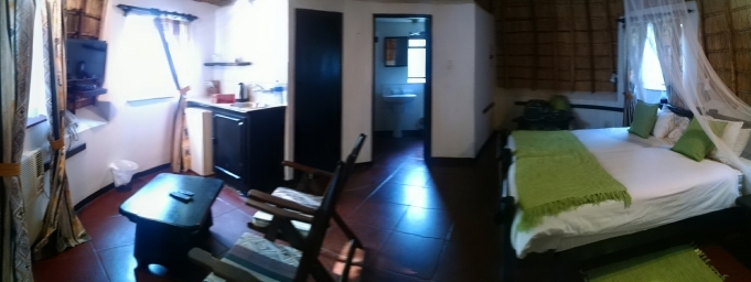 Inside the rondavel
