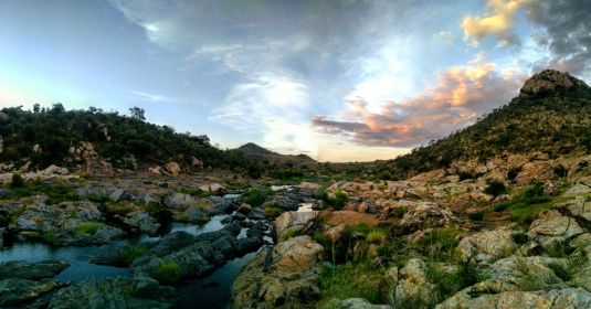 Gorgeous scenery in Kruger National Park