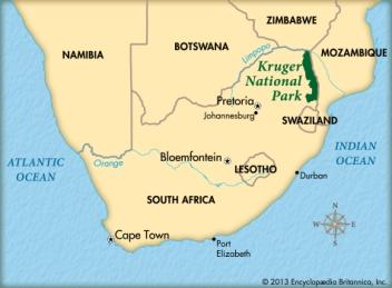 kruger-national-park-map