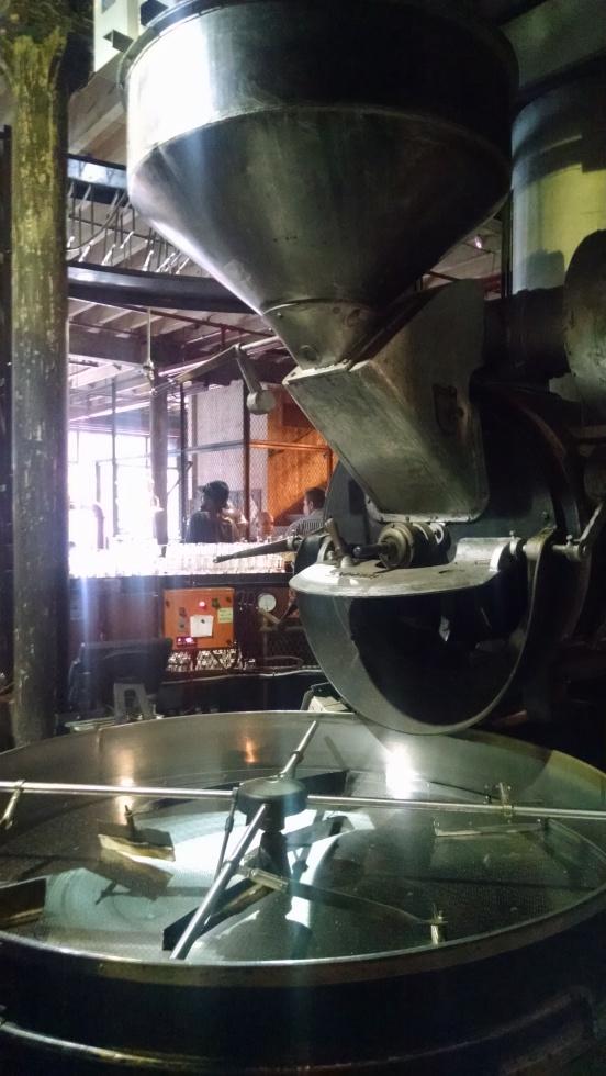 1940's cast iron coffee roaster
