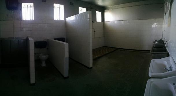 Prison dorm room bathroom
